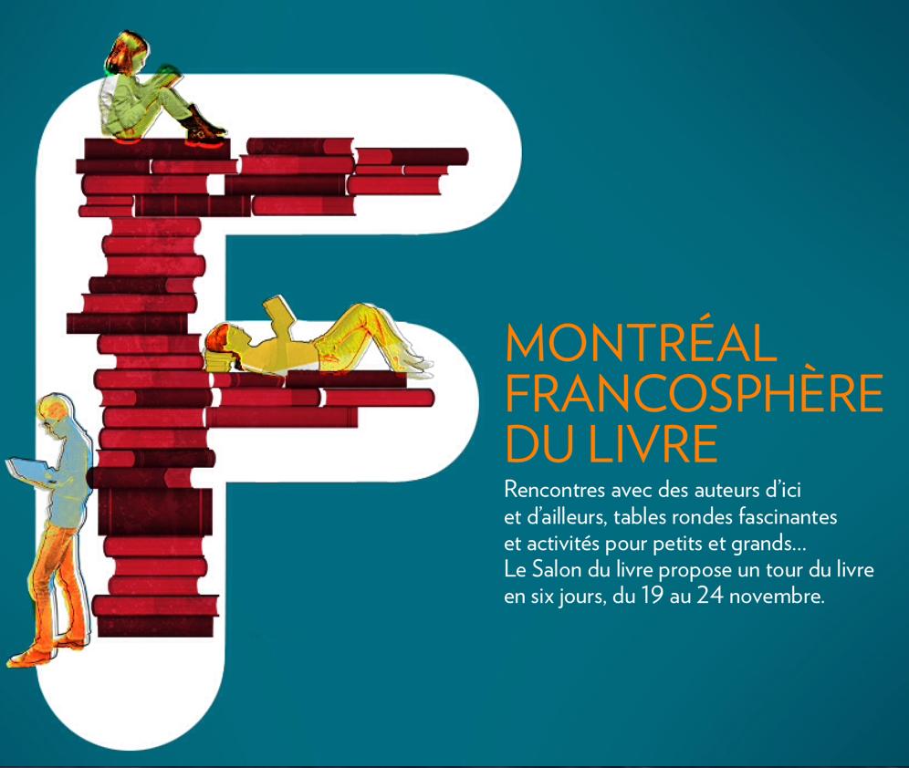 Salon du livre de Montréal, Jocelyn Létourneau, Je me souviens (crédit photo: La Presse)