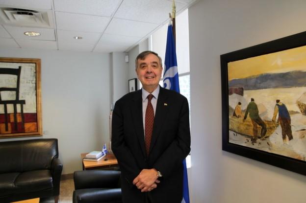 le nouveau délégué général du Québec à New York, Jean-Claude Lauzon