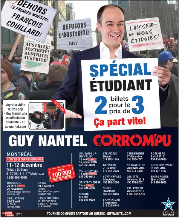 Guy Nantel Vox Pop