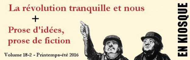 Argument Révolution tranquille