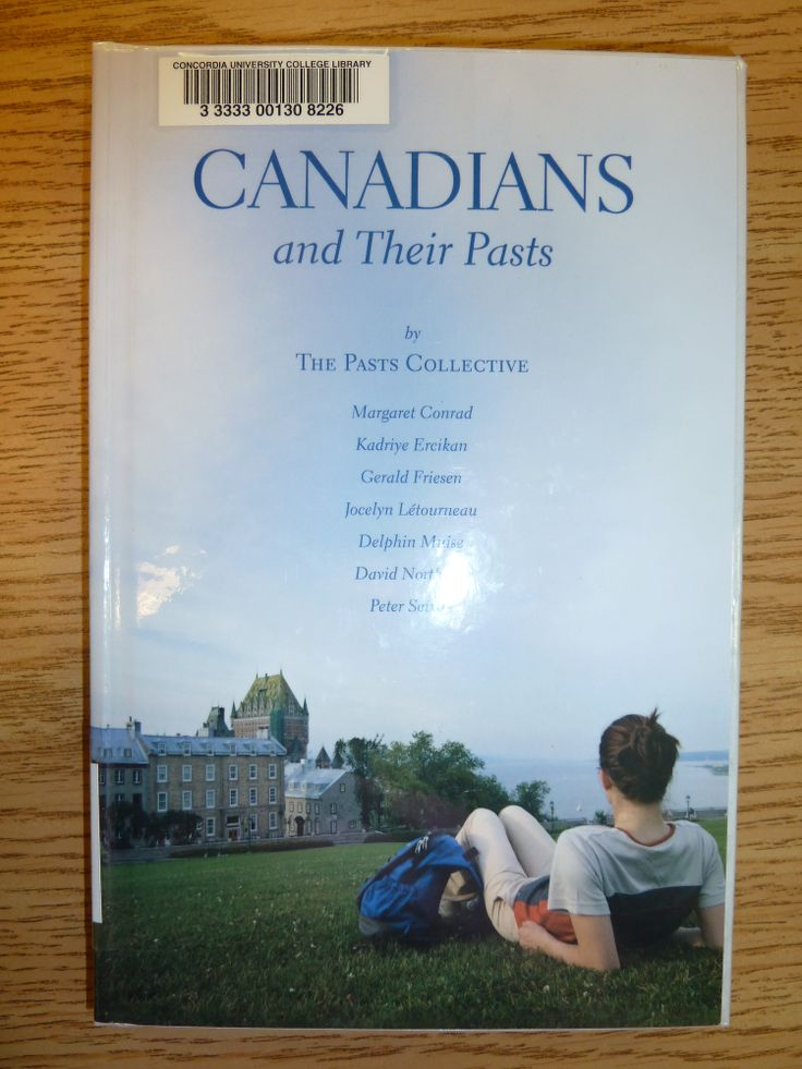 Canadians and Their Pasts