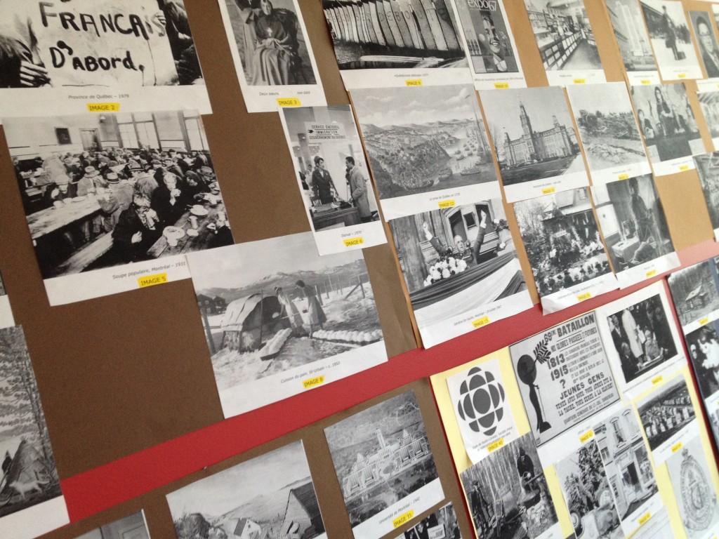 mur des représentations sondage histoire du Québec