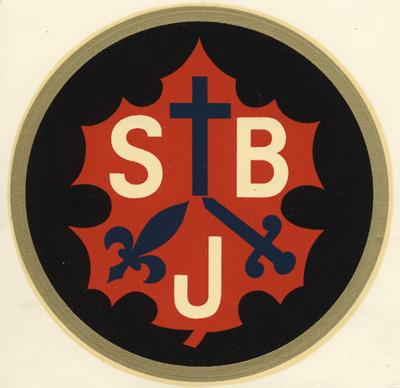 Société Saint-Jean Baptiste / Je me souviens (source www.crccf.uottawa.ca)