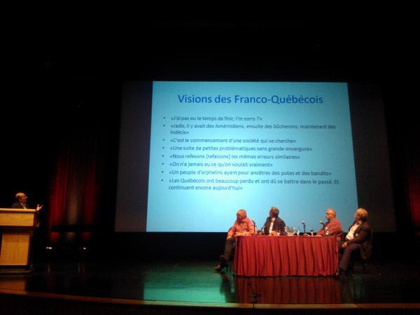 Visions des Franco-Québécois