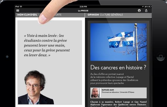 Raphaël Gani, Des canacres en histoire?, La Presse +
