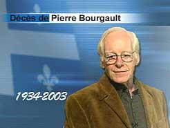 Pierre Bourgault et la cassette de l'histoire du Québec